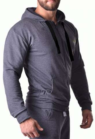 Худи Berserk Pragmatic dark grey fleece изображение